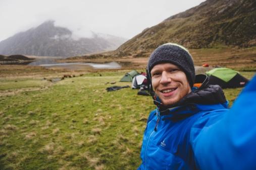 Camping selfie!